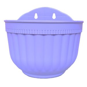Wall Hanging flower pots planters - Purple
