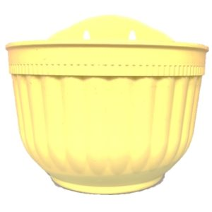 Wall Hanging flower pots planters - Yellow
