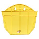 Wall Hanging flower pots planters - Yellow- Back