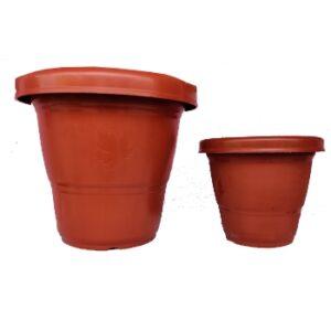 Shera Premium Quality Pot - Brown colour