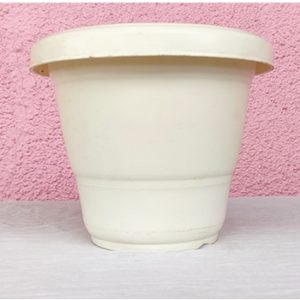 Shera Premium Quality Pot - White colour