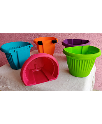 Wall Hanger Multicolored pot online at low price