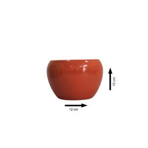 Round 12cm Metal Pot/Planter
