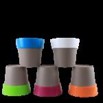 Buy Harshdeep Double Color ARTY Pot