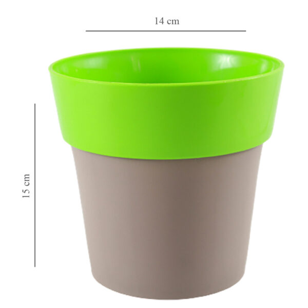 Buy Harshdeep Double Color ARTY Pot