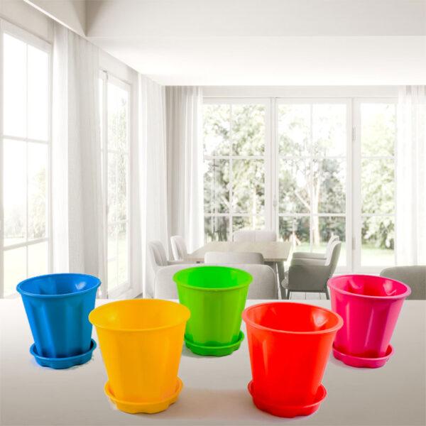 Buy Pack of 5 pots online at - Nursery Nisarga