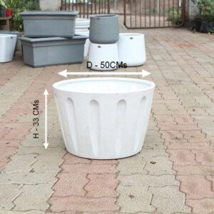 "Buy Decora premium pots ""Ornate"" , ""Code - OP"" online - Nursery Nisarga"