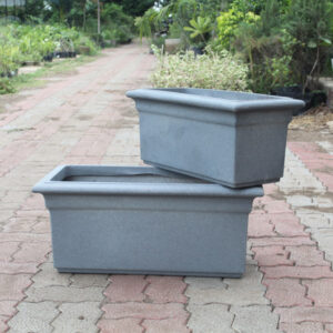 "Buy Decora Premium pot (rectangle shape) ""Code - TT""_ online - Nursery Nisarga"